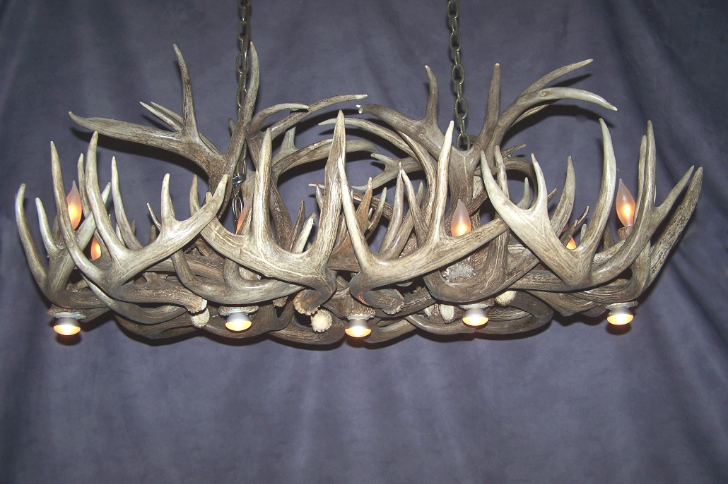 close up view of cdn antler designs socket and quality of craftmenship. Black Bedroom Furniture Sets. Home Design Ideas