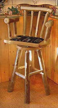 Padded Mates Swivel Bar Stool