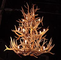 Triple Tier Elk / Mule Deer Chandelier