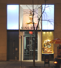 Elk Cascade Chandelier at Nine West Store, 675 Fifth Ave., New York