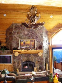 Real Antler Moose / Mule Deer Chandelier