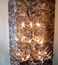 Elk / WhiteTail / Mule Deer Grand Chandelier