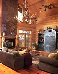 Royal Crown Elk Chandelier