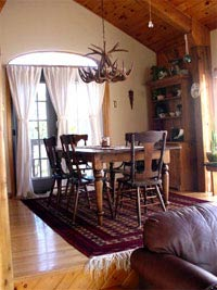 Medium White Tail  Deer Chandelier